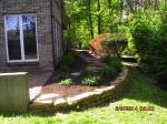 Big C Lawn and Landscaping - Stone Retaining Wall w/ Mulch - Spring Cleanup, 2015 - 77