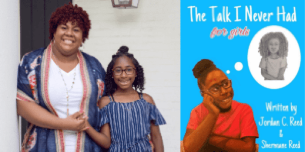 Mother and Daughter and cover ofThe Talk I Never Had