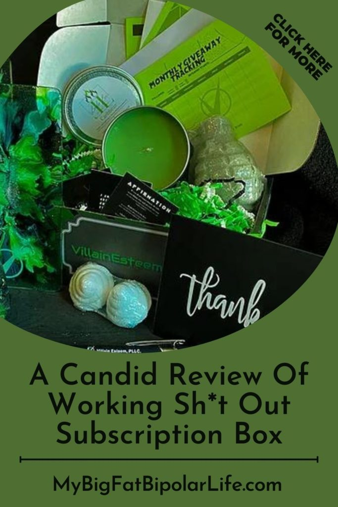 For too long, mental health subscription boxes have targeted a very specific demographic—ultra-feminine women, while missing out on an opportunity to serve a broader audience. Villain Esteem noticed less feminine women and men were not being served, and their Working Sh*t Out subscription box is their response to that untapped market. Read my candid review to find out more.  #mentalhealthdemystified #villainesteem #endthestigma