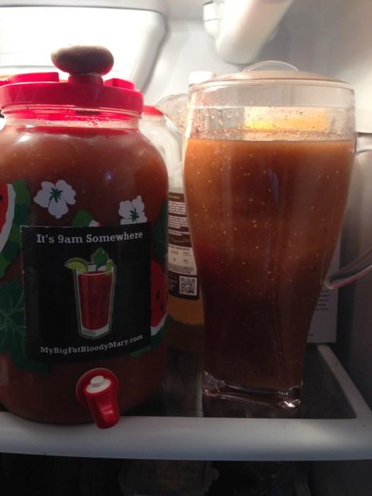 tomatillo chili bloody Mary