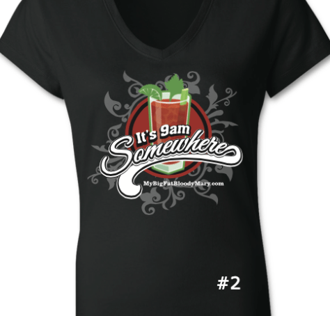Bloody Mary T Shirt