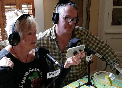 Lynn Miller and Garrison Sing a Duet