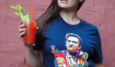 Bloody Mary Johnny Cash T shirt