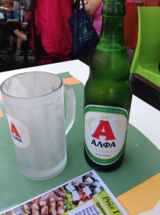My favorite Greek beer of all