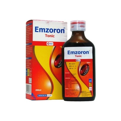 Emzoron Tonic is used for Iron deficiency anemia, Treatment of  megaloblastic anemias due to a deficiency of folic acid, Treatment of  anemias of nutritional origin, Pregnancy, Infancy, Or childhood, Vitamin  b12 deficiency,