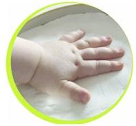 set per creare impronte del bambino