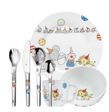 piatti e posate per bambini
