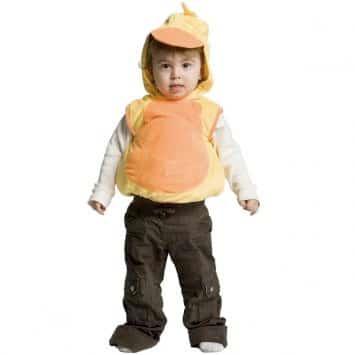 costume per bambini papero