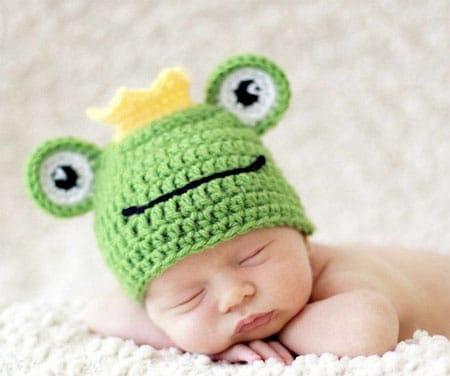cappello neonato servizio fotografico