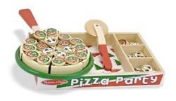 pizza giocattolo in legno