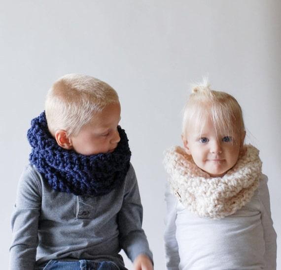 rivenditore all'ingrosso 8f3e4 4eb4e Bellissime sciarpe scaldacollo in lana per bambino e bambina