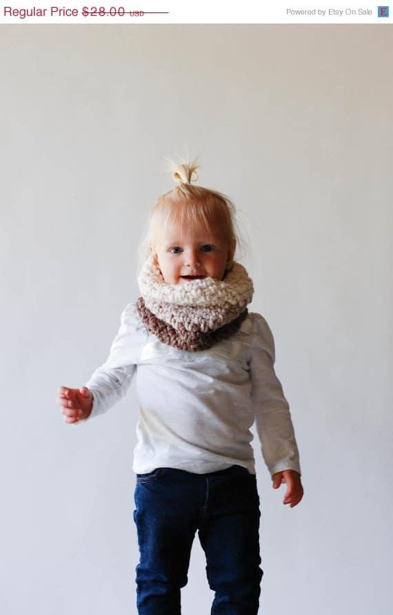 design unico design elegante costruzione razionale Bellissime sciarpe scaldacollo in lana per bambino e bambina