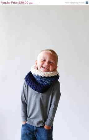 sciarpa lana loop bambino