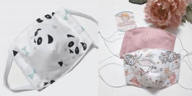 maschere protettive bambini