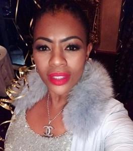 Johanna Mukoki  with good makeup