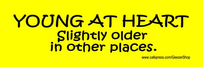 Humorous Old Age Sayings