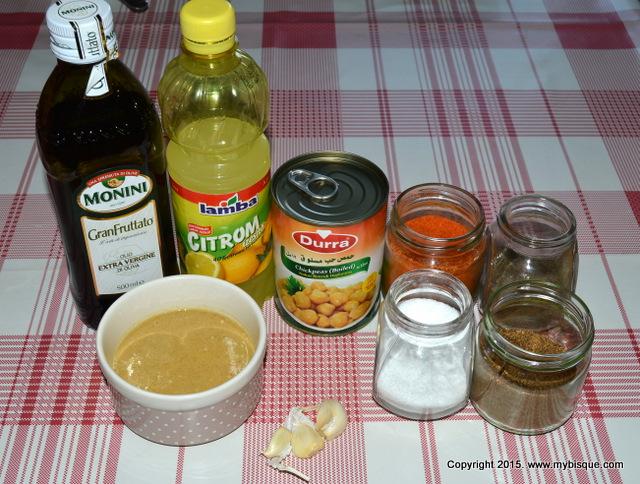 Humus-pasta aperitiv cu naut