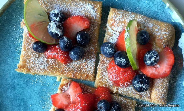 Tarta din aluat fraged cu ricotta si fructe de padure