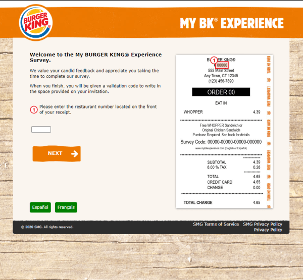 www.myBKExperience.com - Free Whopper or Chicken Sandwich