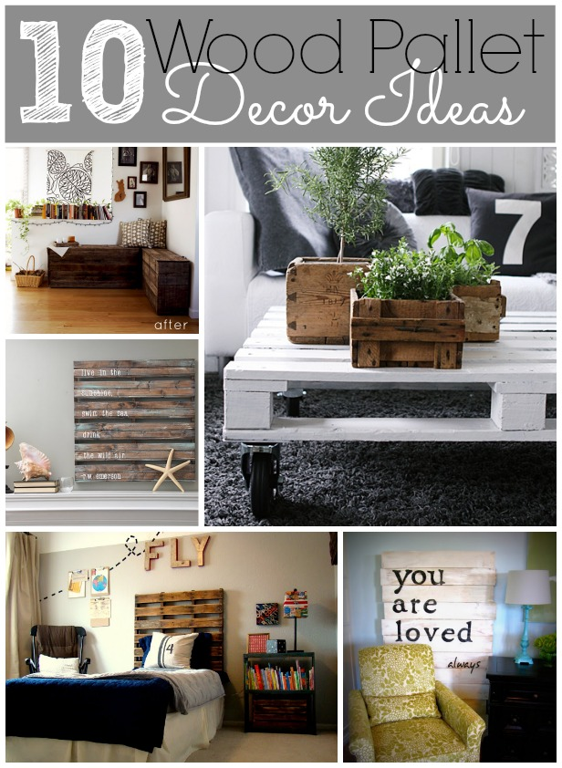 10 Wood Pallet Decor Ideas on Pallets Design Ideas  id=99082