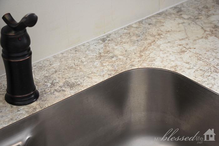 beautiful laminate countertop with