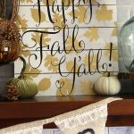 Fall Mantel 2015 My Blessed Life
