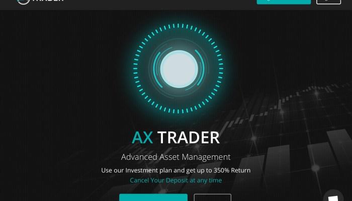 Passive Income With AX Trader