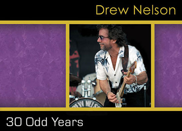 Drew Nelson - 30 Odd Years - CD cover