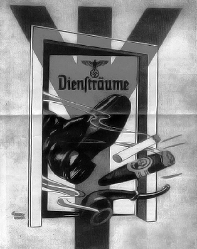Anti-Smoking Nazi poster