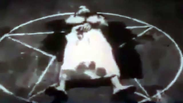 Satanic ritual sacrifice video