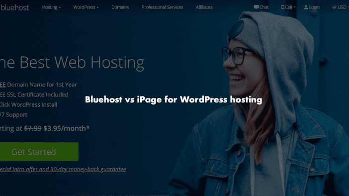 Bluehost vs iPage for WordPress hosting