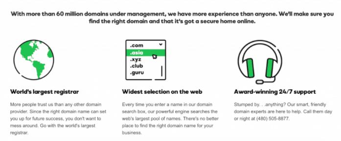 largest domain registrar