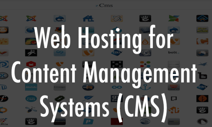 Content Management System hosting