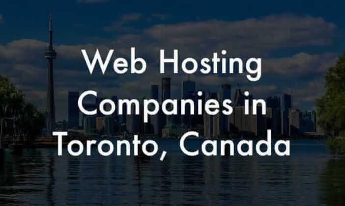 toronto web hosting companies