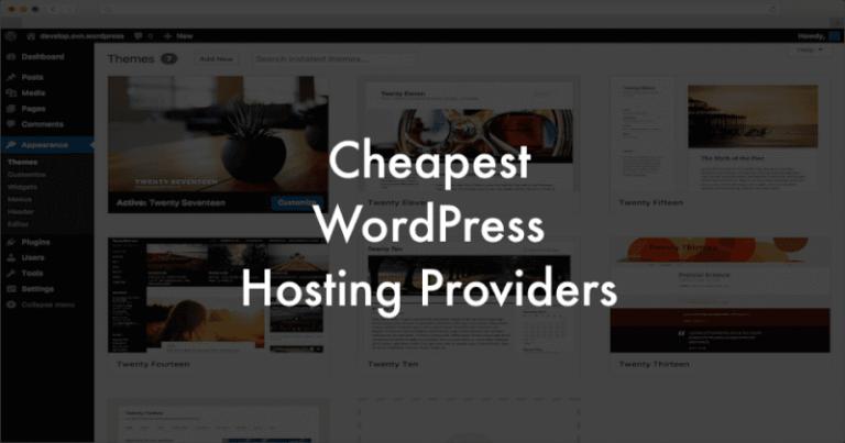 low cost WordPress hosting