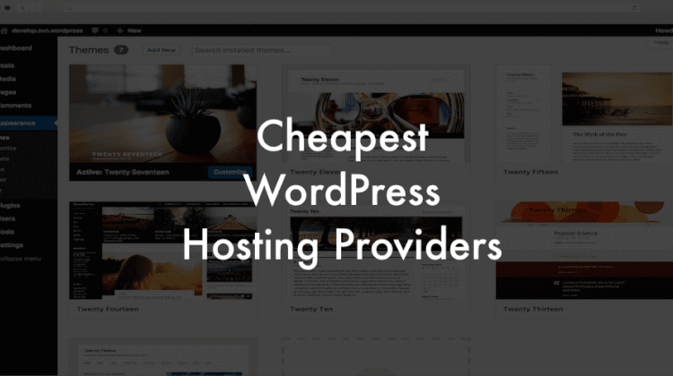 low cost WordPress hosting