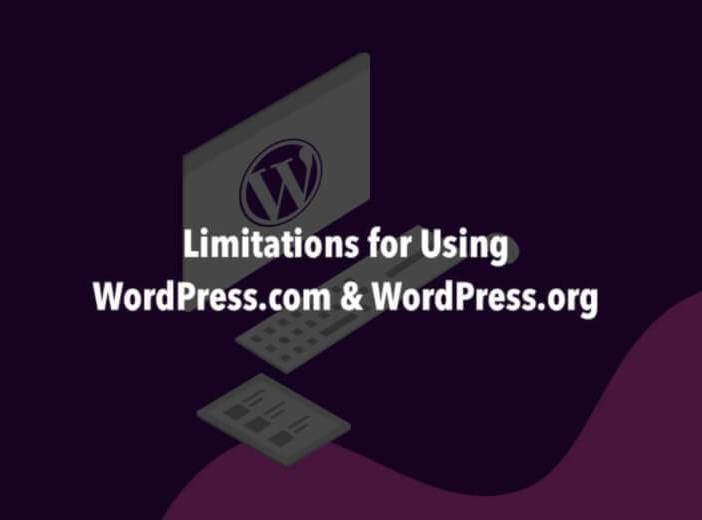 Limitation for Using WordPress