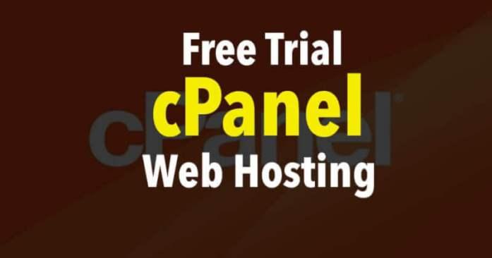 Free Trial cPanel Web Hosting