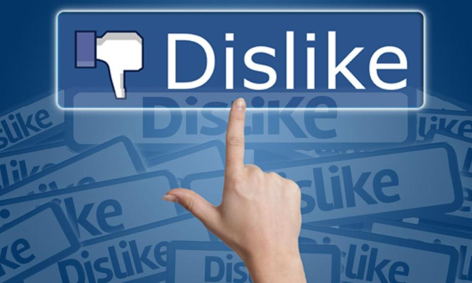 dislike - A DISLIKE button for Facebook, that will never HAPPEN, why?
