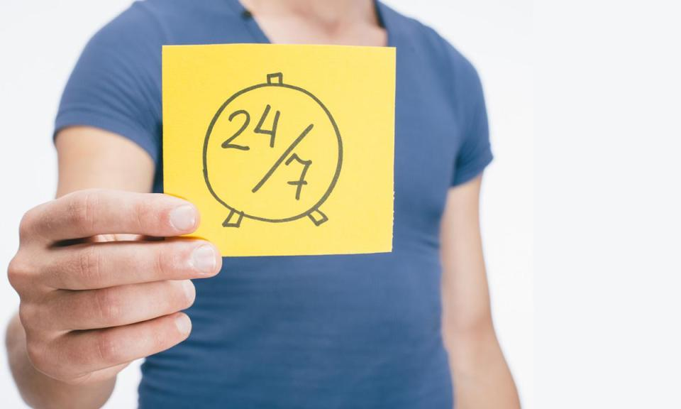 job 24by7 - Should you be thinking about your job 24/7?