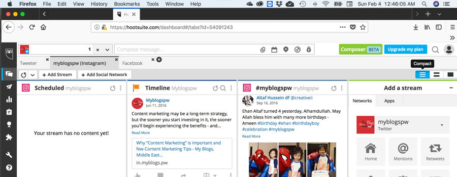 inside article insta hootsuite - How to post Instagram photos from a desktop computer
