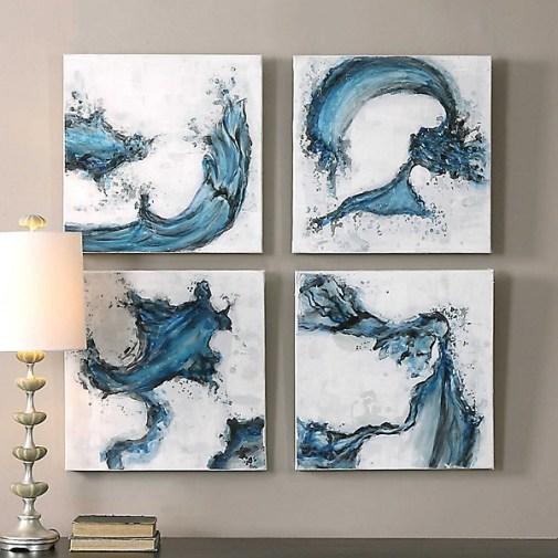 Set of 4 Wall Art Set