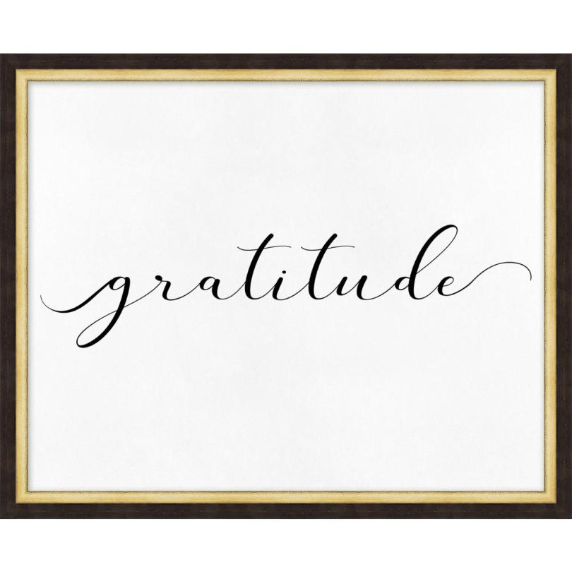 Gratitude in Cursive