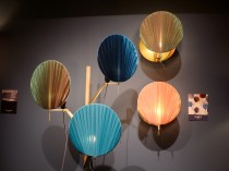 Lighting fans in colors by Servomuto