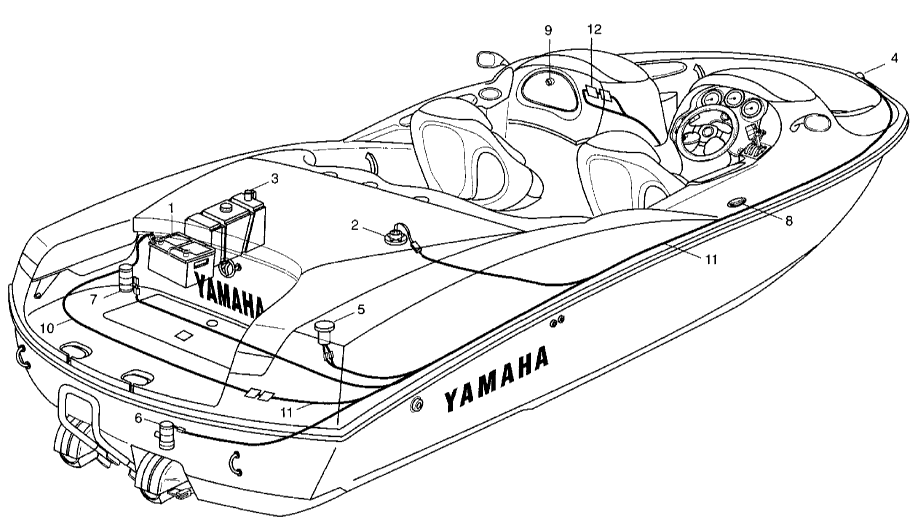 1991-1995 Yamaha WaveRunner VXR 650/700 Service Manual