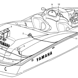 Yamaha Boat Factory/OEM Service Manual PDF Download