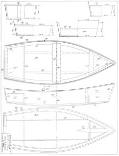 New! Myboatplans 518 Boat Plans   Updated For Higher Comms!  Image of dingy plans