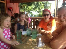out for lunch in Paia