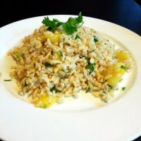 Pineapple Cilantro Jalapeno Rice
