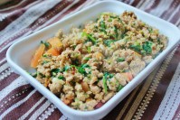 sauteed turkey with cilantro and tomatoes